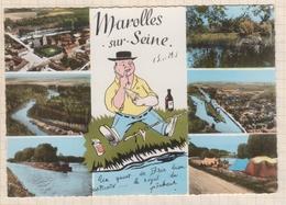 8AK1471 Marolles Sur Seine Multi Vues 2 SCANS - Autres Communes