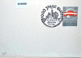 SV6008 1000 Jahre Gleiss, Burg, 3332 Rosenau Sonntagberg AT 11.6.1993 / 1 - Affrancature Meccaniche Rosse (EMA)