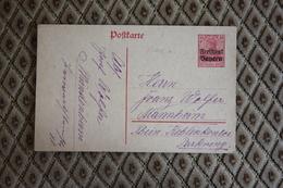 Ganzsache P 112a Gelaufen  -  Siehe Beschreibung ( 429 ) - Bayern (Baviera)