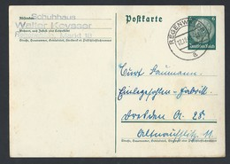 10de.Postkarte. Ich übergab Die Post 1940 Nach Regenwalde. Schuhhaus. Walter Keysser. - Covers & Documents