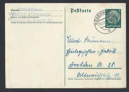 10de.Postkarte. Ich übergab Die Post 1940 Nach Regenwalde. Schuhhaus. Walter Keysser. - Allemagne