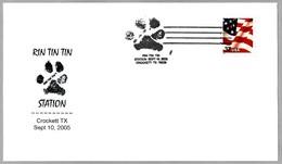 PERRO RIN TIN TIN - DOG. Crockett TX 2005 - Kino