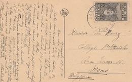Congo Belge Carte Postale Pour La Belgique 1931 - 1923-44: Covers