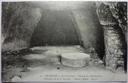 LES CARRIÈRES - CHEMIN DES CHARBONNIERS - INTÉRIEUR DE LA 1er CARRIÈRE - MEULE Á BLANC - BEAUVAIS - Beauvais