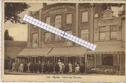 "HEIDE-KALMTHOUT-CALMPTHOUT "" HOTEL DES FLANDRES-FAMILIEPENSIOEN-ROZEBOOM-BRIENE"" HOELEN 388 UITGIFTE  02.08.1936 TYPE 10 - Kalmthout"