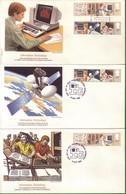 Lotto REGNO UNITO FDC.TECNOLOGIA E INFORMAZIONE 1982. - Andere
