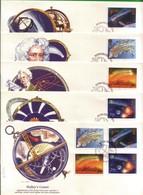 Lotto REGNO UNITO FDC.COMETA DI HALLEY 1986. - Andere