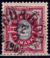 Sweden, 1892, Numeral Of Value, 4o, Sc# 55, Used - Sweden