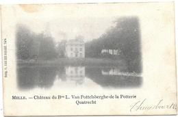 Melle NA2: Château Du Bon L. Van Pottelberghe De La Potterie Quatrecht 1902 - Melle
