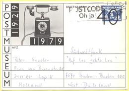 OLANDA - NEDERLAND - Paesi Bassi - 1979 - 40c Over 4c - 1929-1979 PostMuseum - Carte Postale - Intero Postale - Entier P - Postal Stationery
