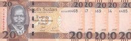 SOUTH SUDAN 20 POUND 2016 P-NEW LOT X5 UNC NOTES */* - South Sudan
