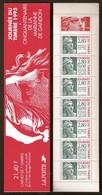 """FRANCE : Carnet Journée Du Timbre 1995 Non Plié - BC 2935  - """"LUXE"""" - - Journée Du Timbre"""
