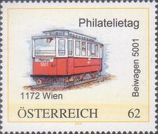 Philatelietag 1172 Wien - Straßenbahn Beiwagen 5001 - 8031547** - Personalisierte Briefmarken