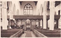 CULLOMPTON  - ST ANDREWS CHURCH INTERIOR - England