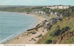 FILEY - THE BEACH @ COBLE LANDING - England