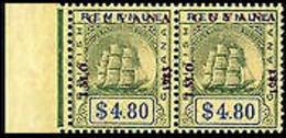 GUYANA 1983 /Int.Marine Org/Ship 4.80 Br.Guyana MARG.OVPT.PAIR - Guyana (1966-...)