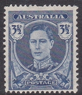 Australia ASC 225 1942 King George VI, 3.5d Blue, Mint Never Hinged - Mint Stamps
