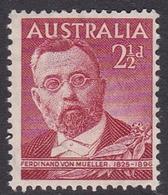 Australia ASC 247  1948 Von Mueller, 2.5 D Red, Mint Never Hinged - Mint Stamps