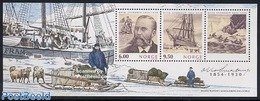 Norway 2004 Otto Sverdrup S/s, Joint Issue Canada, Greenland, (Mint NH), Transport - Ships And Boats - History - Explore - Nuovi