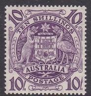 Australia ASC 255 1949 Arms, 10 Sh Purple, Mint Never Hinged - Mint Stamps