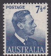 Australia ASC 264  1951 King George VI Definitives,7.5d Blue, Mint Never Hinged - Mint Stamps