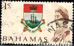 Colony Badge, Bahamas Stamp SC#252 Used - Bahamas (1973-...)