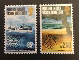 B.I.O.T.  - MH*  - 1974 - # 57/58 - British Indian Ocean Territory (BIOT)