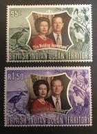 B.I.O.T.  - MH*  - 1972 - # 48/49 - Britisches Territorium Im Indischen Ozean