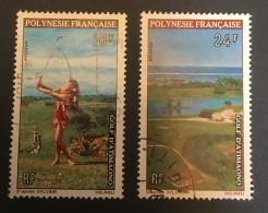 Fr. Polynesia   - (o)   - 1974  - # C94/95 - Polinesia Francese