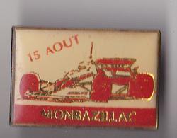 PIN'S THEME RALLYE   COURSE DE COTE A MONBAZILLAC  EN DORDOGNE - Rallye