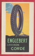 Binche - Publicité Pneus Englebert ... Proposé Par Le Garagiste P. Hanot - 1922 ( Voir Verso, Cachet ) - Binche