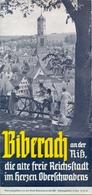 Brochure Dépliant Faltblatt Toerisme Tourisme - Biberach An Der Riss - Ca 1950 - Dépliants Touristiques