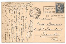 4307 - STRASBOURG FOIRE  34 - Storia Postale