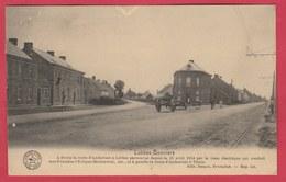Lobbes-Bonniers ... Route D'Anderlues à Lobbes Et Route D'Anderlues à Thuin ...historique -1923 ( Voir Verso ) - Lobbes