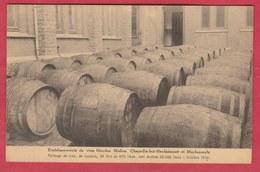 Chapelle-lez-Herlaimont Et Morlanwelz - Ets De Vins Nicolas Melon ... Bariques( Voir Verso ) - Chapelle-lez-Herlaimont