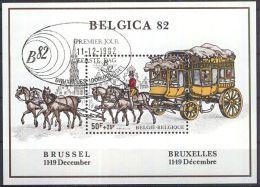 BELGIEN 1982 Mi-Nr. Block 53 O Used - Aus Abo - Blocs 1962-....