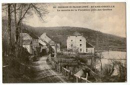 CPA    25     BYANS OSSELLE    1915  LE MOULIN DE LA FROIDIERE - Water Mills