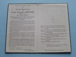 DP Romanie GRUWIER ( Edouard RABAU ) Ieper 21 April 1864 - 5 Feb. 1953 ( Zie Foto's ) ! - Religione & Esoterismo