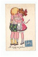 Illustration Illustrateur Couple Enfants Ne Soyez Pas Jaloux - Illustrateurs & Photographes