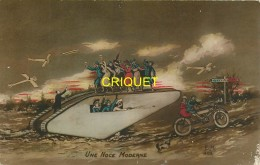 Guerre 14-18 Illustrée, Une Noce Moderne, Poilus Et Femmes, Vieux Char, Moto, Aéroplanes... - War 1914-18