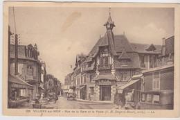 Villers Sur Mer - Rue De La Gare Et La Poste (animée) - Villers Sur Mer