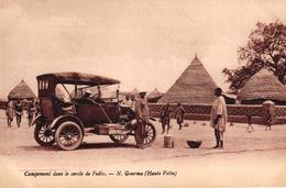 CAMPEMENT DANS LE CERCLE DE FADLA - N GOURMA - HAUTE VOLTA - VEHICULE ANCIEN - Burkina Faso