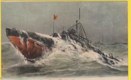 MARINE DE GUERRE Le Sous-Marin THON - Sous-marins