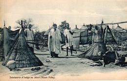 TEINTURERIE D'INDIGO AU MOSSI - HAUTE VOLTA - Burkina Faso