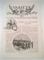 COME SI DIVENTA ZAPTIE' - G. DE SIMONI   1914 ART. RIT. DA GIORNALE - Vecchi Documenti