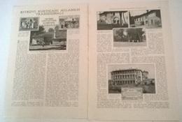 RITROVI RUSTICANI MILANESI TRADIZIONALI - M. TRANGAR  1914 ART. RITAGLIATO DA GIORNALE - Vecchi Documenti