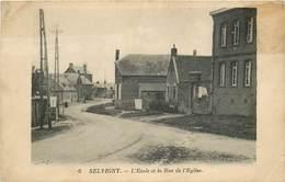 SELVIGNY-l'école Et Rue De L'église - Frankrijk