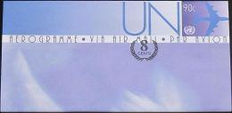 UNO NEW YORK 2009 Mi-Nr. LF 23 Ganzsache Luftpostfaltbrief Ungebraucht - New-York - Siège De L'ONU