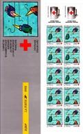"""FRANCE : Carnet Croix Rouge Non Plié - BC2041  - """"LUXE"""" - 1992- - Red Cross"""