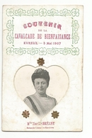 Cpa Evreux-souvenir De La Cavalcade De Bienfaisance, Mai 1907, Melle Marthe Breant Reine Du Commerce Ebroicien - Evreux